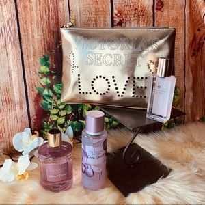 Victoria's Secret Body Care And Beauty Bag